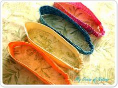 Fabric scrap elastic headband