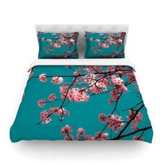 KESS InHouse Dreaming by Ann Barnes Featherweight Duvet Cover Size: King/California King, Fabric: Cotton