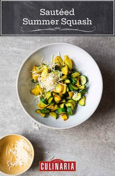 Looking for a way to use that glut of summer squash that's suddenly upon you? This simple side of sautéed squash is easy to make, healthy, and ready in just 15 minutes. #squash #zucchini #sides #sidedishrecipes Sauteed Squash, Yellow Summer Squash, Cooking For One, Meals For One, Cooking Time, Vegetable Recipes, Vegetarian Recipes, Cooking Recipes, Vegetarische Rezepte