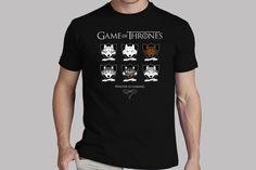 Camisetas de juego de Tronos: el invierno llega #camiseta #starwars #marvel #gift