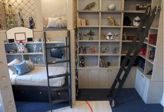 The best boy's bedroom ever....PERIANTH