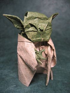 So cute! Star Wars Origami!