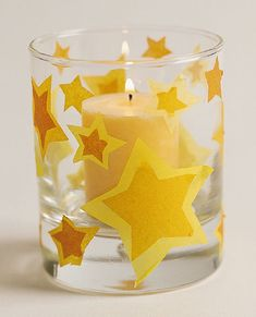 Tumbling Stars Candleholder
