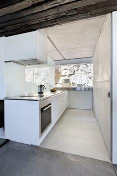 #architecture #design #interiors #kitchen #style #modern #contemporary #white #home decor #windows #view - dezanove house IÑAKI LEITE