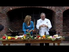 Chef John Folse - Grilled Whole Redfish
