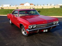 Sweet '65 Chevy Impala SS. Awesome American Musclecar!