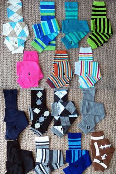 Baby Leg Warmers  - PICK YOUR FAVORITE