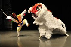 Modern Dance, Lion Dance, Animal Costumes, Folk Fashion, Korean Art, Korean Traditional, Arte Popular, Korea Fashion, Fantasy Creatures