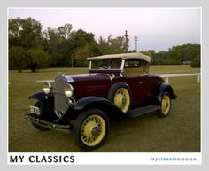 1931 Chevrolet Roadster classic car