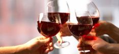 The record for the most people toasting (wine glasses raised) at the same venue was set by 26,564 visitors to Albufeira  http://drinksfeed.com/record-for-most-people-toasting/