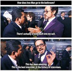 Gotta love Robert Downey Jr.