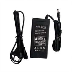36W3A DC12V Plastic Shell Enclosed Power Supply Adapter For LED Strip Light