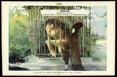 Cappiello 1915 ''La Kultur au Jardin d'Acclimatation'' Boche