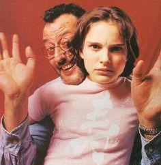Jean Reno and Natalie Portman