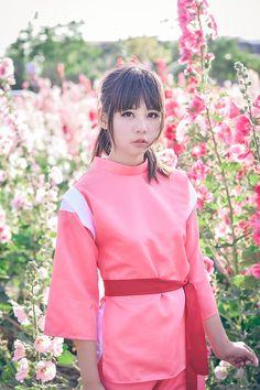 Ogino Chihiro (Spirited Away) cosplay by cxy0818 (紫姝)