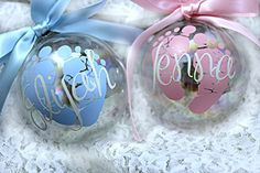 Amazing Personalized Baby's First Christmas Ornament / Custom Ornament / Christmas Ornament / Gift for New Moms