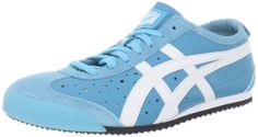 Onitsuka Tiger Mexico 66 Sneaker,Sky Blue/White,15 M US Women's/14 M US Men's. Low-profile sneaker with sport-minded overlays. Padded tongue and collar. Rubber sole. Variation: Size (15 B(M) US Women / 14 D(M) US Men). Perforated footbed. Leather.
