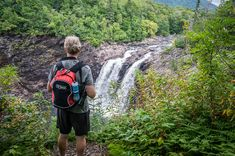 The Hike to Agawa Falls in Northern Ontario - on the Towab Trail in Lake Superior Provincial Park Road Trip Photography, Scenery Photography, Travel Planner, Trip Planner, Best Travel Sites, Ontario Parks, Canadian Travel, Visit Canada, Michigan Travel