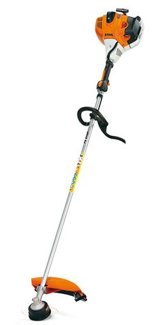 The STIHL FS 240 R professional trimmer combines a heavy-duty design with the versatility needed to handle a variety of challenging clearing situations. Providing 20% more fuel efficiency, the low-exhaust-emission engine, combined with the large (25.4 oz.) fuel tank, means you'll spend more time cutting and less time refueling.