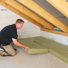 Diese 3 Fehler bei der Dachbodendämmung müssen nicht sein: Anleitung für die Dämmung der obersten Geschossdecke