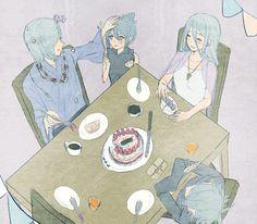 Corrin and Azura family