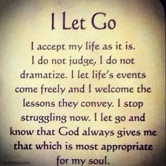 I just live this affirmation!