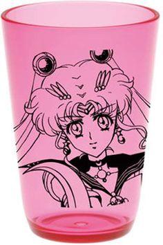 Sailor Moon Crystal Sailor Moon Clear Tumbler $7.50 http://thingsfromjapan.net/sailor-moon-crystal-sailor-moon-clear-tumbler/ #sailor moon tumbler #Japanese anime products #anime stuff