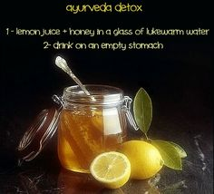 Beauty: Ayurveda detox! Easy, cheap, natural and effective :)