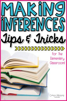 Looking for lessons on teaching making inferences? Come read about my best making inferences teaching strategies and activities. You'll find ways to include anchor charts, worksheets, graphic organizers, signal words, pictures, stories, and even reading centers! The making inference activities are perfect for 2nd, 3rd, and 4th grade. A whole week's worth of lessons and activities to choose from plus my best making inference strategies! (making inference centers, making inferences lesson plans)