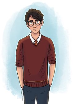 I draw things. Harry Potter Artwork, Harry Potter Wizard, Harry Potter Drawings, Harry James Potter, Harry Potter Anime, Harry Potter Universal, Harry Potter Characters, Harry Potter World, Baby Cartoon Drawing