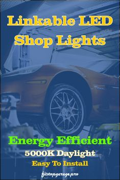 Improve your garage lighting with linkable LED shop lights. Easy to install. Garage Lighting, Shop Lighting, Led Shop Lights, Light Fittings, Energy Efficiency, Improve Yourself, Ceiling Lights, Easy, Life
