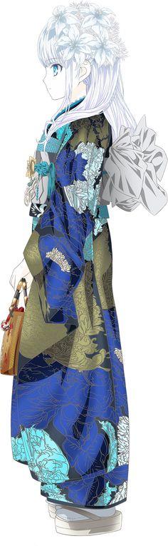 Mayumi SIDE Mari Ohara, Kawaii, Manga Characters, Beautiful Drawings, Sweet Memories, White Hair, Drawing Sketches, Art Girl, Angel