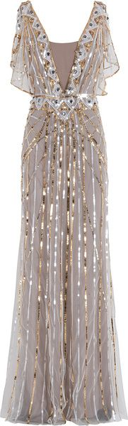 Another Re-pin to The Boo'tique This stuning comet creation by Temperley London   Sequin Gown