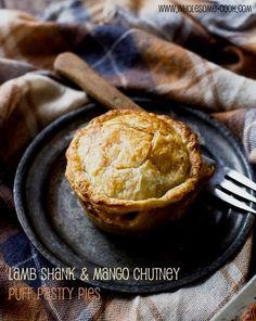 Lamb Shank and Mango Chutney Pies PLUS 10 Other Savoury Pie Filling Ideas