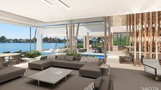 US MIA ED 11: Situated on the iconic Venetian Islands, Miami, the site boasts vistas over Biscayne Bay to downtown.