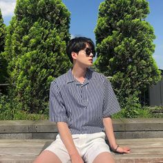 :You can find Ulzzang and more on our website. Korean Fashion Ulzzang, Korean Boys Ulzzang, Korean Fashion Summer, Korean Fashion Trends, Korean Street Fashion, Ulzzang Boy, Korea Fashion, Korean Outfits, Asian Fashion