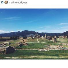 Si pasáis por Roses no dejéis de visitar el recinto arqueológico de La Ciutadella! Una maravilla! #visitroses #aroses  Gracias @marinerodrigues por compartir esta imagen! ... #descobreixcatalunya #catalunyaexperience #igersgirona #incostabrava #empordaturisme