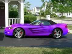 purple viper -you can't see me, but I'm drooling right now.
