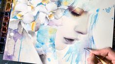 【WATERCOLOR PORTRAIT】 Remember Me