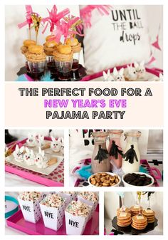 Pancakes, Popcorn, and more for a NYE Pajama Party!