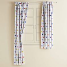 Kids Blackout Curtains Rainbow Star Harbour Whitewash Bedroom Create The Look
