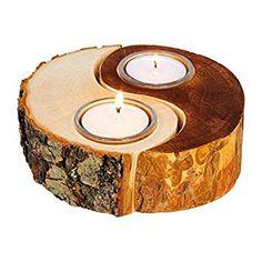 Pequeño Pie Company Asunto 2021392 Decoración Yin Yang Naturaleza & Candle