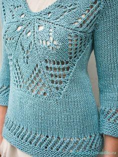 Топ и пуловер Salado by Norah Gaughan - Berroco: Norah Gaughan Vol 8.
