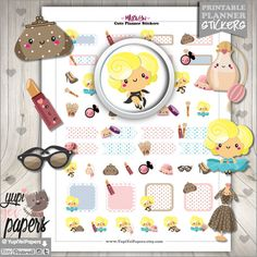 Marilyn Monroe Planner Stickers by www.YupiYeiPapers.Etsy.com