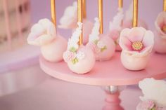 Cake pops from a Whimsical Swan Soiree on Kara's Party Ideas | KarasPartyIdeas.com (18)