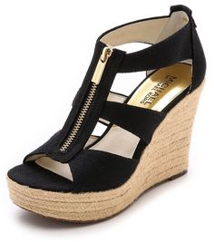 MICHAEL Michael Kors Damita Wedges- or these shoes. Michael Kors Selma, Michael Kors Crossbody, Michael Kors Outlet, Michael Kors Shoes, Handbags Michael Kors, Michael Kors Hamilton, Mk Handbags, Fashion Handbags, Fashion Shoes