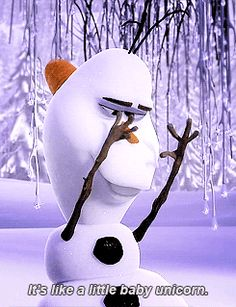 Day Favorite original character: Olaf I almost put Elsa, but she's technically based on the Snow Queen. Olaf is adorable and funny, caring and loyal. Disney Pixar, Disney Sidekicks, Disney And Dreamworks, Disney Magic, Disney Movies, Walt Disney, Disney Characters, Funny Disney, Funny Olaf Quotes