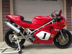 Ducati 888 SP4 - Right Side