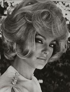 Virna Lisi's 60s Hair style.