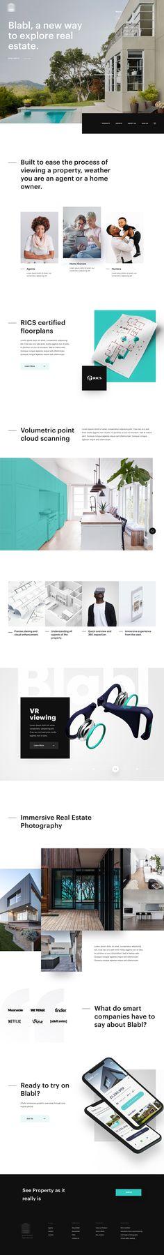 Dribbble - by Filip Justić Clean Web Design, Best Ui Design, Page Design, Design Web, Web Layout, Layout Design, Web Design Mobile, Modern Website, Ui Web